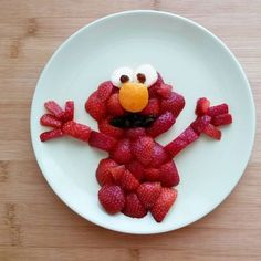 Simple And Wonderful Child Menu Pictures - Delicious Food great children's menu pictures Cute Snacks, Fun Snacks For Kids, Cute Food, Good Food, Yummy Food, Toddler Meals, Kids Meals, Food Art For Kids, Food Carving