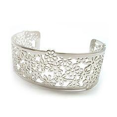 Blend Creations Flower Cuff Bracelet <3