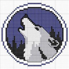 Strijkkralen dieren wolven on Pinterest | 17 Pins