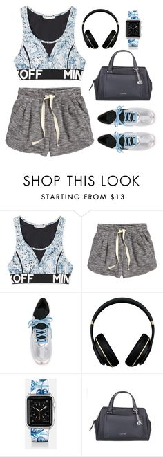 """""""Everyday is a Workout Day"""" by euphemiasun97 ❤ liked on Polyvore featuring Rebecca Minkoff, H&M, Dolce&Gabbana, Alexander Wang, Casetify and Calvin Klein"""