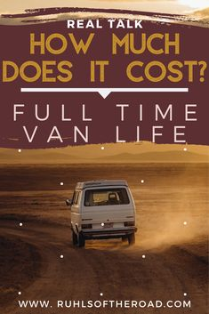 How much does full time van life cost We are breaking down our monthly van life budget to show you exactly how much camper living costs. Plus we are sharing other vanlife tips, van hacks and van life…More Ways To Travel, Travel Advice, Travel Tips, Travel Essentials, Travel Guides, Life Hacks, Life On A Budget, Van Living, Roadtrip