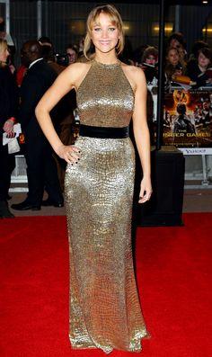 Jennifer Lawrences Best Dresses!: March 14, 2012