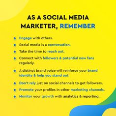 """Few tips for social media marketers: Even as a B2B marketer, consider social media as a platform for connecting with people. Make conversations. Engage. Build relationships. Creating a distinct brand voice will help you in the long term. Companies have personalities, just like people. Of course, there's no """"right"""" personality, you just need to figure out what's right for your brand! Social Channel, Brand Identity, Social Media Marketing, Conversation, The Voice, Connection, Personality, Relationships, Platform"""