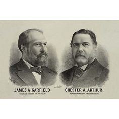 Buyenlarge 'James A. Garfield Republican Candidate for President' by Seer's Litho. Memorabilia Size: