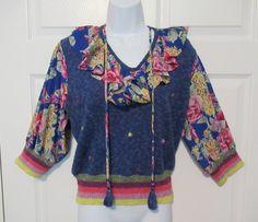 Vintage blouse Diane Freis for Marisa Christina Georgette | Etsy