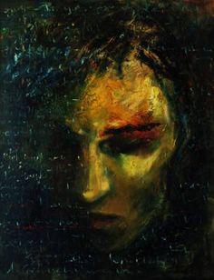 "Saatchi Art Artist Atalay Mansuroğlu; Painting, ""Violence and Trauma"" #art"