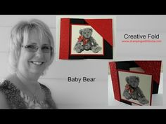 Baby Bear Creative Fold Copper Merriest Wishes Bundle Card Linda Bauwin Your CARD-iologist Helping you create cards from the heart. Flip Cards, Fun Fold Cards, Pop Up Cards, Folded Cards, Card Making Tutorials, Card Making Techniques, Making Ideas, Kids Cards, Baby Cards