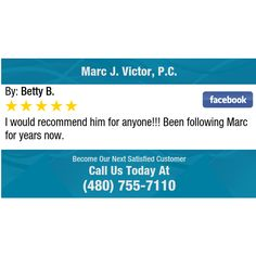 I would recommend him for anyone!!! Been following Marc for years now.
