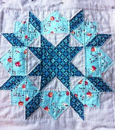 Swoon Quilt Block 3, Quilted by CoraQuilts~Carla, via Flickr