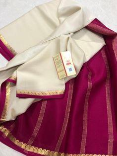 Mysore Silk Saree, Crepe Silk Sarees, Elegant Fashion Wear, Sari Dress, Elegant Saree, Woman Clothing, Saree Blouse Designs, Passion, Pure Products