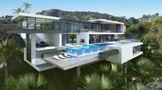 Image result for modern glass house exterior designs
