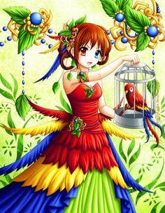 Macaw by Eranthe