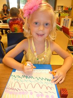 Literacy and Laughter - Celebrating Kindergarten children and the books they love: Drawing in Writer's Workshop Writing Area, Pre Writing, Writing Skills, Writing Centers, Literacy Centers, Kindergarten Writing, Teaching Writing, Alphabet Activities