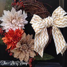 Fall Wreath Inspiration by Hobby Lobby! @HobbyLobby