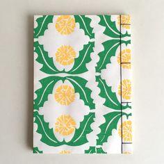 木版和紙でつくる はんなり和綴じノート