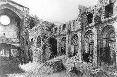 Santa Maria de Ripoll després de l'atac de 1835