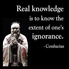 Quotes about real knowledge