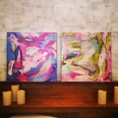 Blog   Marquin Designs   Handmade Jewelry + Fine Art - Two Paintings for @Jenn L @ The Pink Pagoda