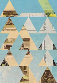 Jelle Martens #triangle #geometric #teal