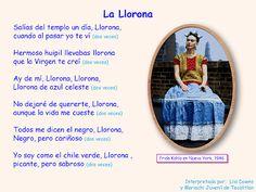 llorona chavela letra: