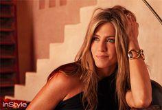 Sneak Peek: Jennifer Aniston's InStyle Interview  #InStyle: She's wearing a beautiful #Gucci Horsebit bracelet!