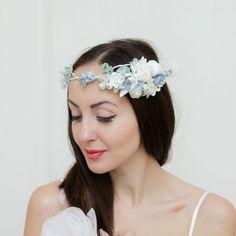 Romantic Wedding Floral Crown Bridal floral crown от ByKochetova