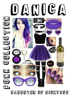 """""""Punk daughter of Dionysus"""" by pmstefancik on Polyvore featuring Chicwish, Luigi Bormioli, Effy Jewelry, Marni, Valfré and Smashbox"""