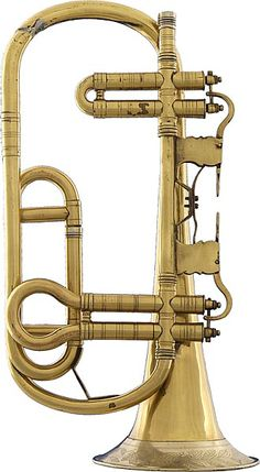 Trumpet in G - 1830 - Vogtland, Germany - Museum Markneukirchen Brass Musical Instruments, Brass Instrument, Trombone, Ancient Music, Sound Sculpture, Trumpet Players, Strange Music, French Horn, Electric Guitars