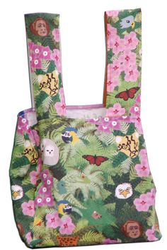 Animals of the Rainforest Tote Bag by ElkoArtbyBrandy on Etsy, $25.00