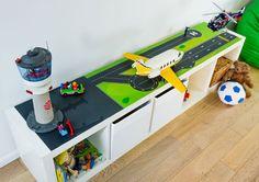 Spieltisch DIY: Möbeltattoo für IKEA KALLAX Regal - Limmaland - Stoliki dla dzieci
