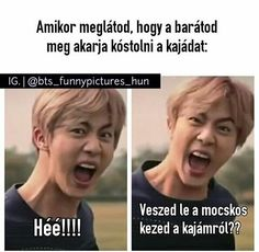 #wattpad #humoros ... BTS OR EXO? Bts Memes, Funny Memes, Jokes, Bts Jin, Jimin, Kdrama, W Two Worlds, Kpop, Picture Quotes