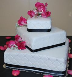 Wedding Cake I made for Marc's Sister