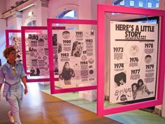 timeline graphic panel에 대한 이미지 검색결과 Exhibition Display, Museum Exhibition, Environmental Graphics, Environmental Design, Timeline Design, Timeline Ideas, Museum Plan, Museum Displays, Blog Images