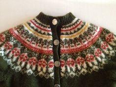 Vintage Norway Wool Sweater / Nordic Print of by VintageByBeth, $19.00