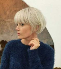 Pale blush black bob, if you adulation different styles, this is the appropriate option!She is one of the best figure for abbreviate hair! And this abbreviate ancillary continued top brownie cut looks amazing for 2018!If you hae blubbery hair