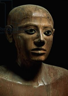 Statue of Chancellor Nakhti, from Asyut, early Middle Kingdom
