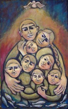 FAMILIA BENDITA - Maria Martha Diez Arte -