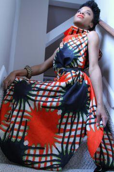 Poncho Dress by ngozi on Etsy, $102.00