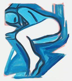 Tom Wesselmann, 'Blue Nude No. 3,' 2001, Galerie Fluegel-Roncak
