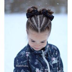 "1,390 Likes, 51 Comments - Braids by Elisabet (@elisabetsisters) on Instagram: ""Dutch braids and buns inspired by @prettylittlebraids #dutchbraid #messybun ❄️ Hollantilaisia…"""