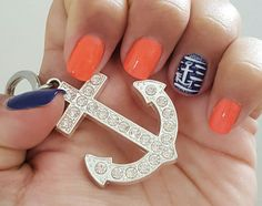 Summer nails - Anchor obsession