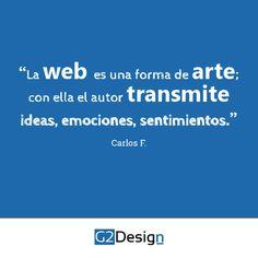 Web, arte, diseño, ideas, emociones, sentimientos.