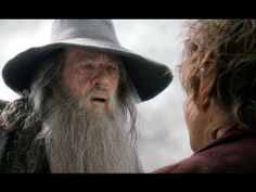 Bilbo contemplates telling Gandalf about the One Ring in new #Hobbit clip