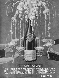 Champagne Advertisement