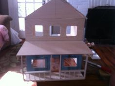 My husband builds dollhouses! Who knew? Go find your hidden talent...