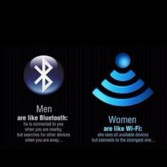 Truth (?) about men and women...