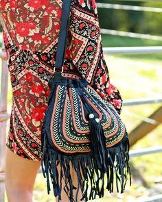 Dream Weaver Bag -  Black