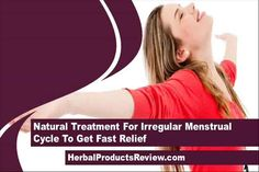 This video describes about natural treatment for irregular menstrual cycle to get fast relief. You can find more detail about Gynex capsules at http://www.herbalproductsreview.com