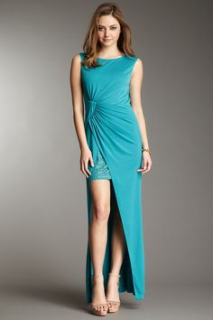 Ariel Draped Long Gown