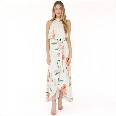 online shopping for L'Academie The Maxi Shirt Dress from top store. See new offer for L'Academie The Maxi Shirt Dress Maxi Shirt Dress, Maxi Wrap Dress, Dress Long, Peach Maxi Dresses, Bridesmaid Dresses, Floral Dresses, Camisa Formal, Shower Dresses, Rehearsal Dress